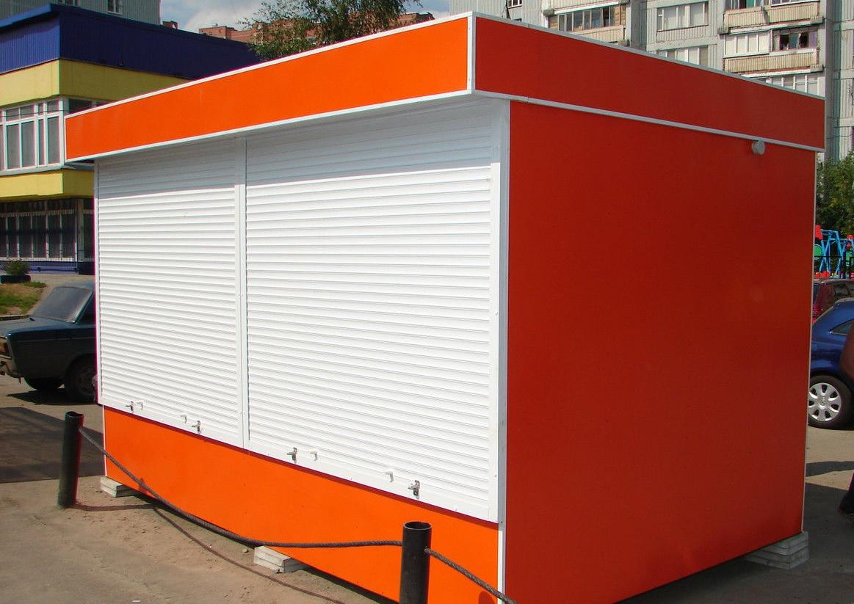"""Торговый павильон """"Оранж"""""""