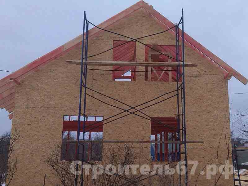 жилой каркасный дом